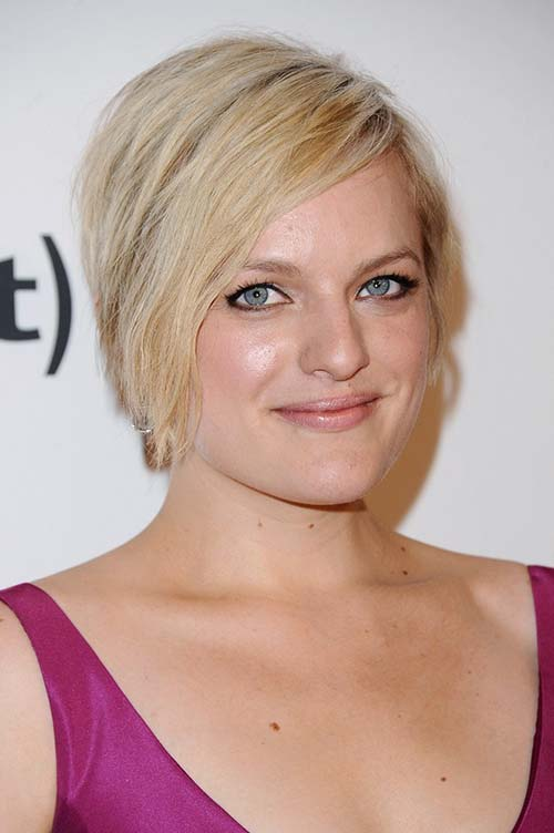 20 Short Hairstyles Celebs Love to Wear: Elisabeth Moss