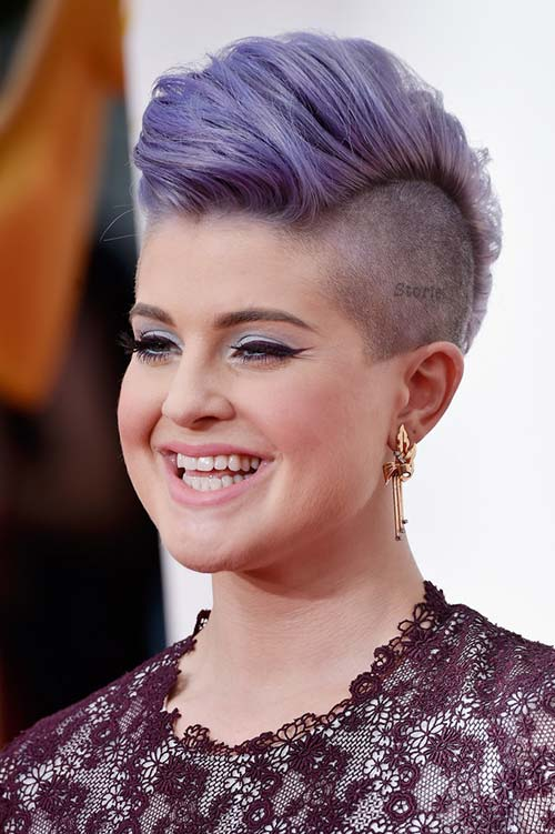 20 Short Hairstyles Celebs Love to Wear: Kelly Osbourne