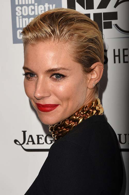 20 Short Hairstyles Celebs Love to Wear: Sienna Miller