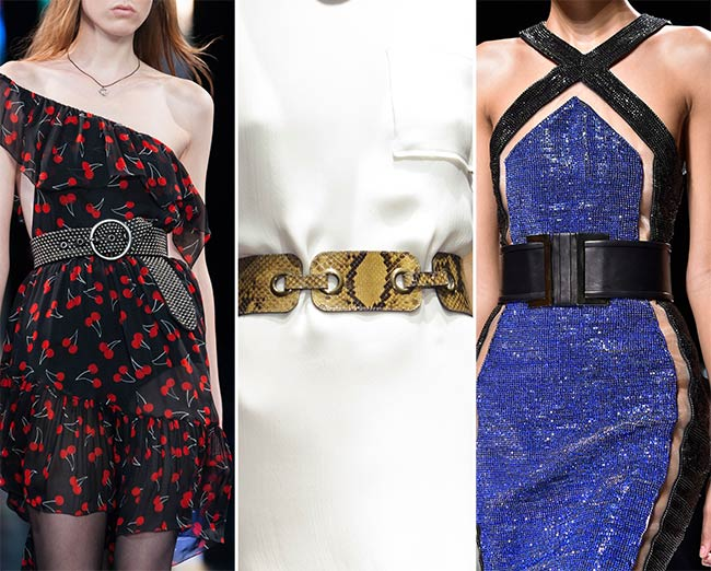 Spring/ Summer 2015 Accessory Trends: Catchy Belts