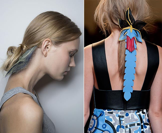 Spring/ Summer 2015 Hair Accessory Trends: Abstract and Innovative Hair Accessories