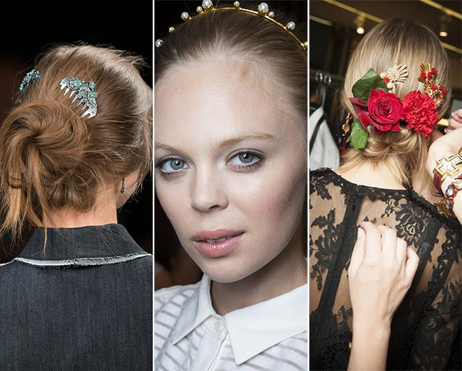 Spring/ Summer 2015 Hair Accessory Trends: Vintage Hair Accessories