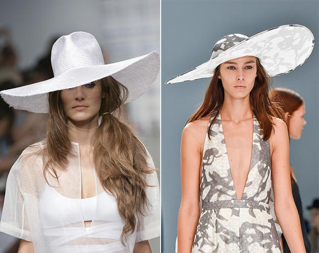 Spring/ Summer 2015 Headwear Trends: Wide-Brim Sun Hats