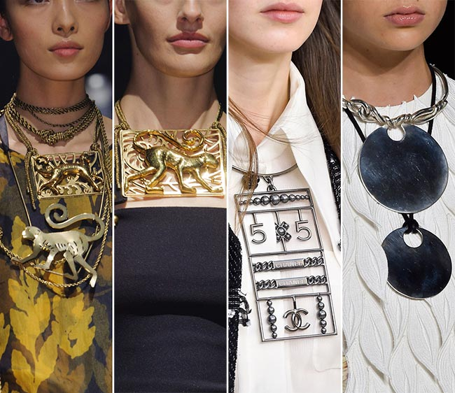 Spring/ Summer 2015 Jewelry Trends: Breastplate Necklaces