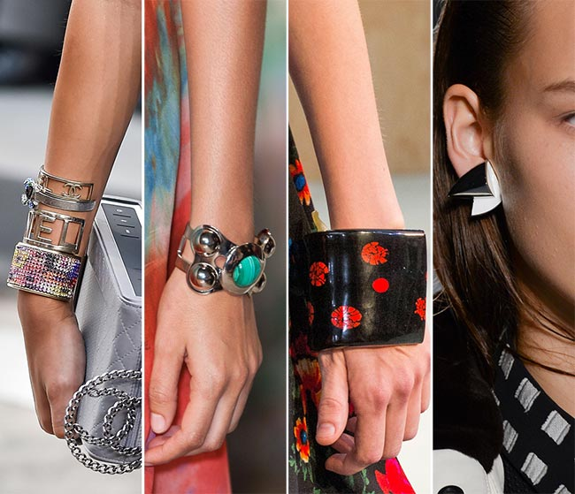 Spring/ Summer 2015 Jewelry Trends: Massive Geometric Jewelry