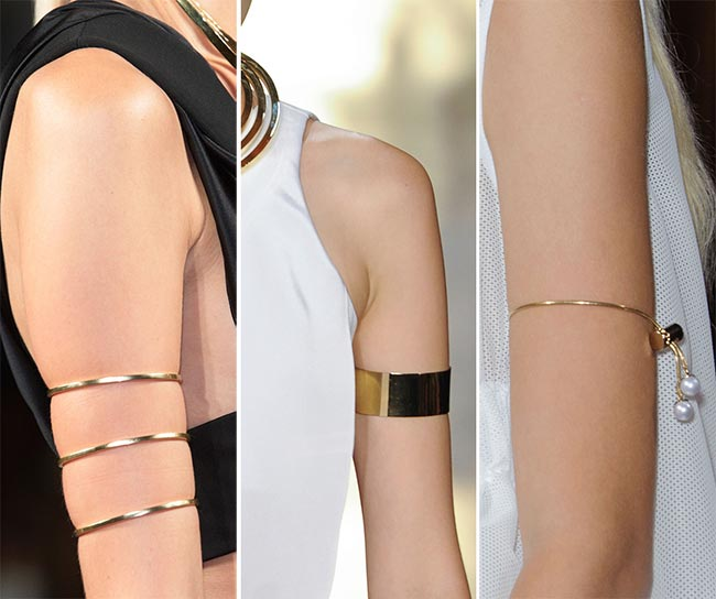 Spring/ Summer 2015 Jewelry Trends: Upper Arm Bracelets and Cuffs