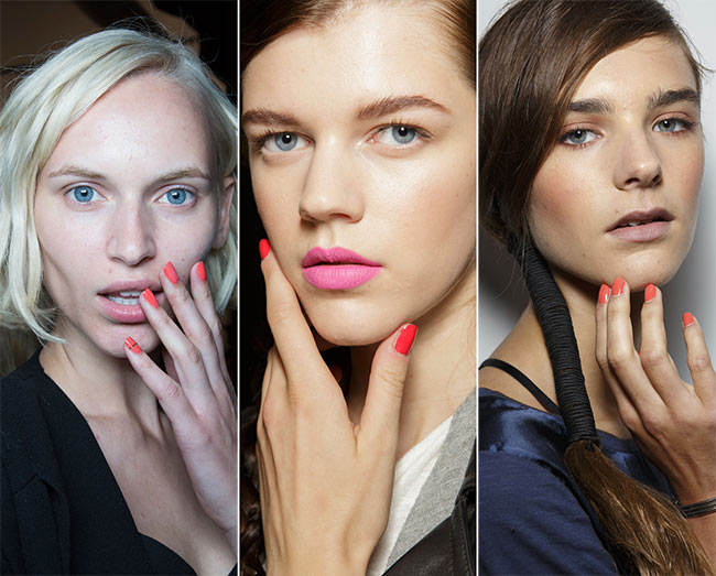 Spring/ Summer 2015 Nail Trends: Red Nails