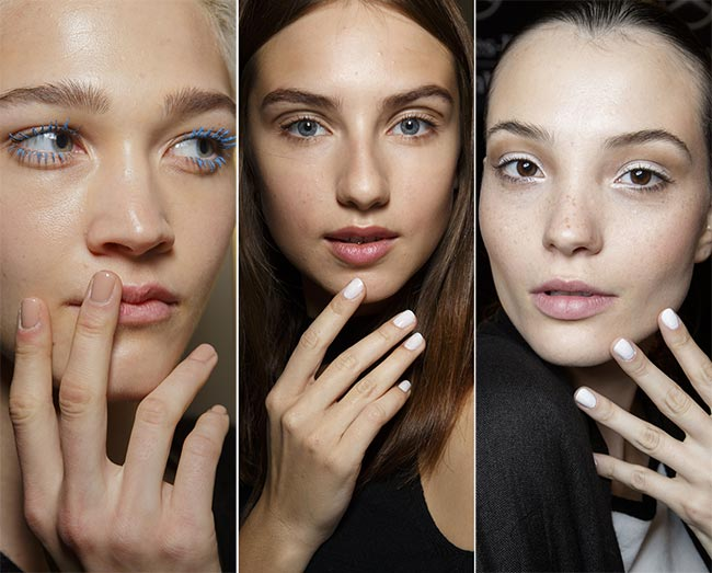Spring/ Summer 2015 Nail Trends: Rounded Nails