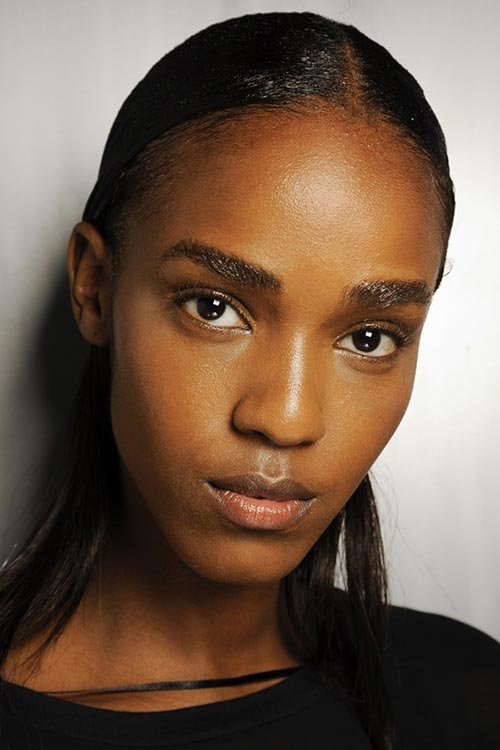 Spring/ Summer 2015 Runway Beauty Trends: Shiny Skin
