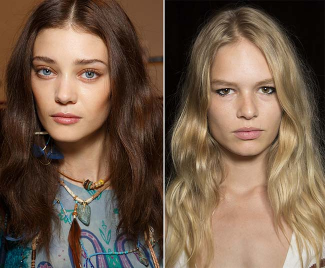 Spring/ Summer 2015 Wavy Hairstyles Taken from The Runway: Desert Waves