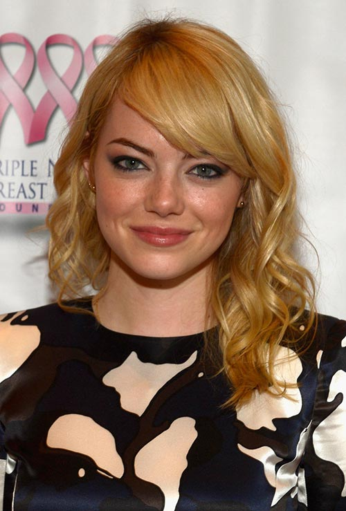 Strawberry Blonde Hair Colors: Emma Stone