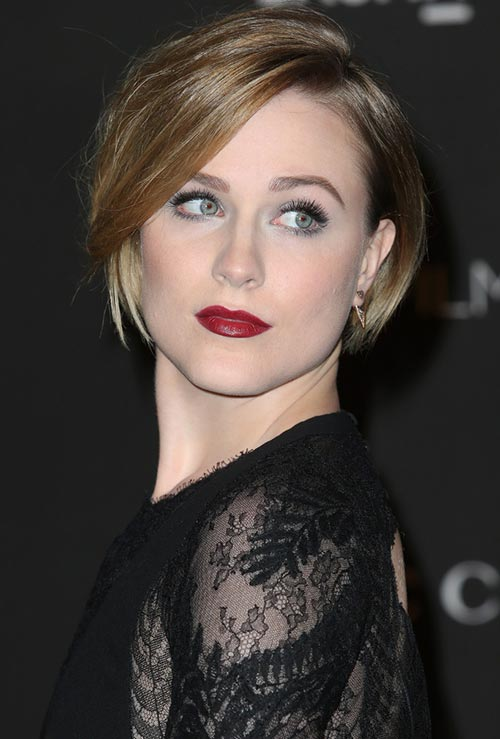 Strawberry Blonde Hair Colors: Evan Rachel Wood