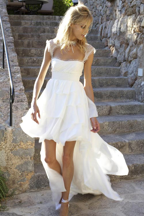 10 of the Most Unique Celebrity Wedding Dresses: Anja Rubik