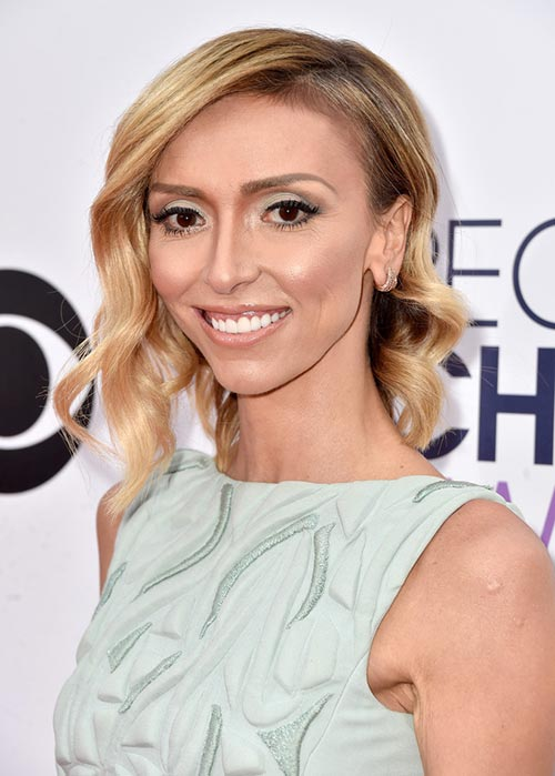 People's Choice Awards 2015 Hairstyles: Giuliana Rancic Side-Swept Bob