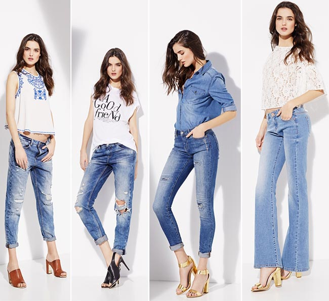 SuiteBlanco Denim Spring 2015 Campaign
