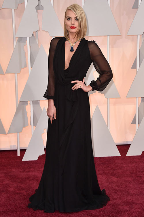 2015 Oscars Red Carpet Fashion: Margot Robbie