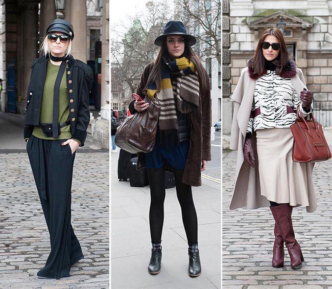 London Fashion Week Fall 2015 Street Style