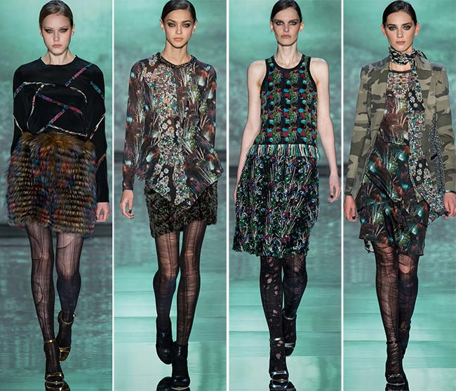 Nicole Miller Fall/Winter 2015-2016 Collection - New York Fashion Week