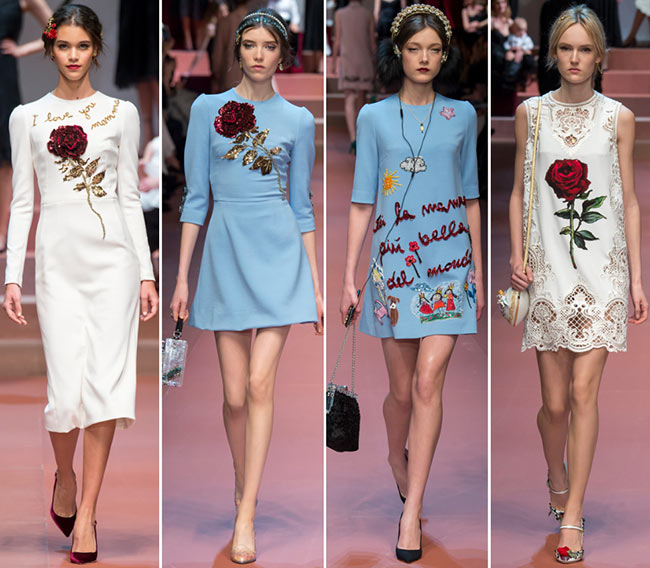 Dolce & Gabbana Fall/Winter 2015-2016 Collection