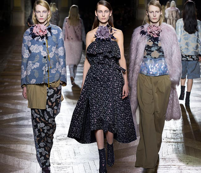 Dries Van Noten Fall/Winter 2015-2016 Collection - Paris Fashion Week