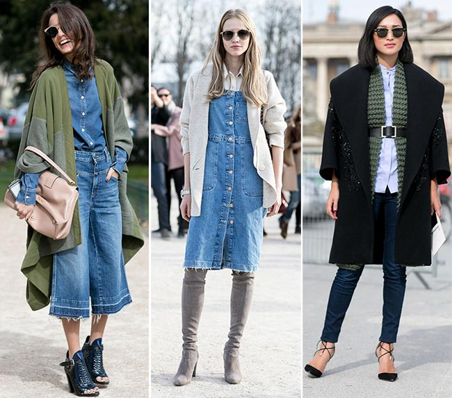 Paris Fashion Week Fall 2015 Street Style