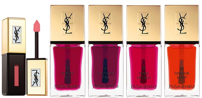 YSL Pop Water Summer 2015 Makeup Collection