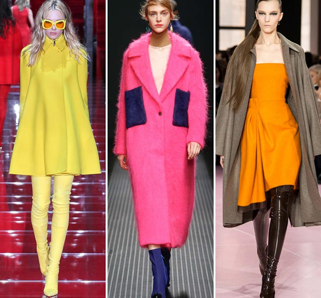 Fall/ Winter 2015-2016 Fashion Trends: Bold Colors