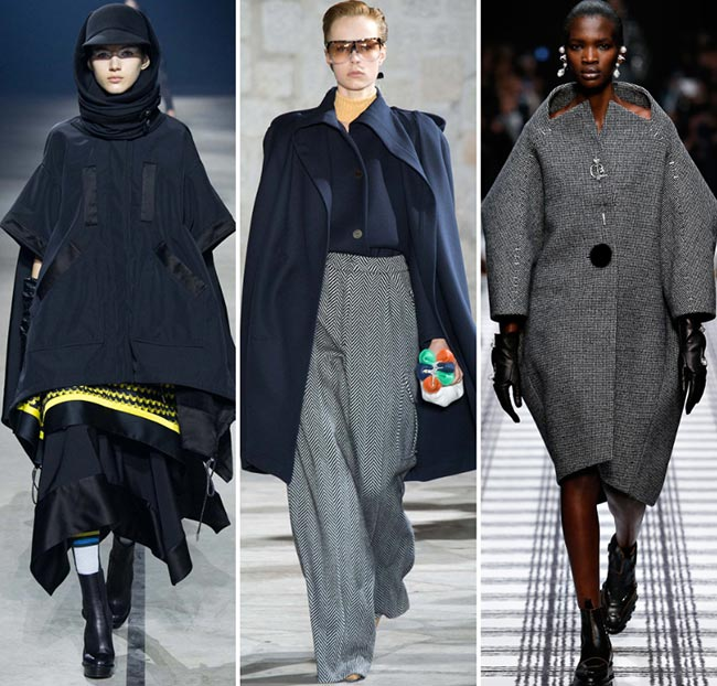 Fall/ Winter 2015-2016 Fashion Trends: Oversized Fashion