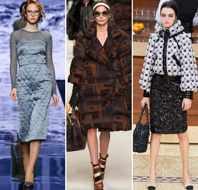 Fall/ Winter 2015-2016 Fashion Trends: Quilting and Duvets