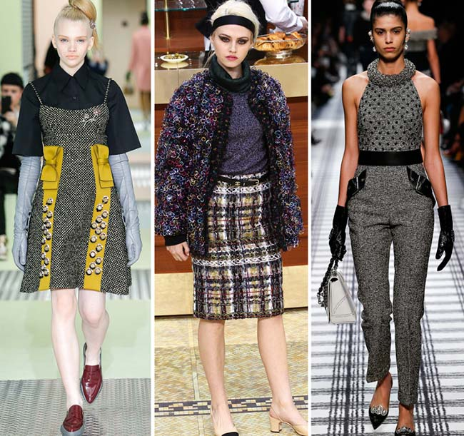 Fall/ Winter 2015-2016 Fashion Trends: Tweed