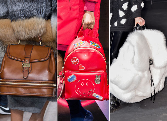 f3b5f77d8e Fall/ Winter 2015-2016 Handbag Trends: Backpacks and Suitcases