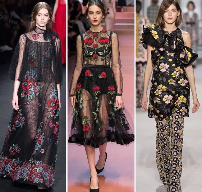 Fall/ Winter 2015-2016 Print Trends: Floral Patterns