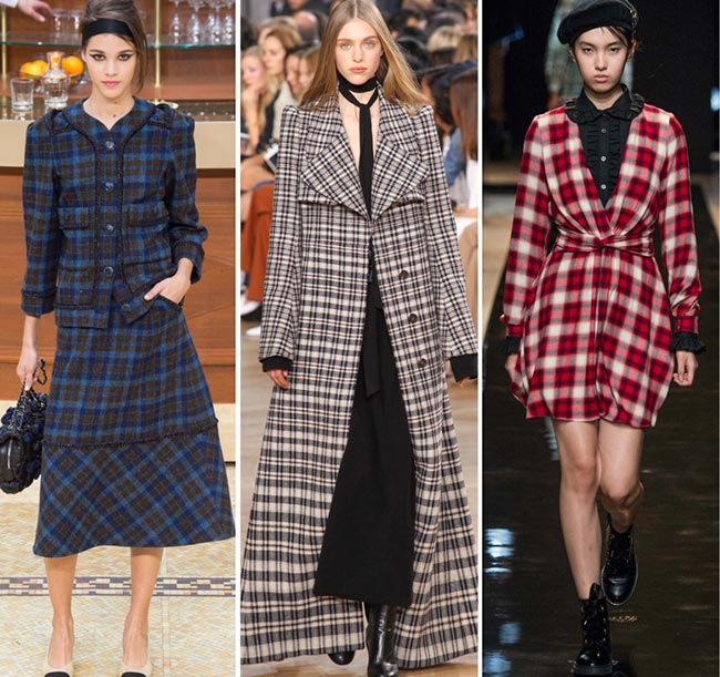 Fall/ Winter 2015-2016 Print Trends: Plaid Patterns