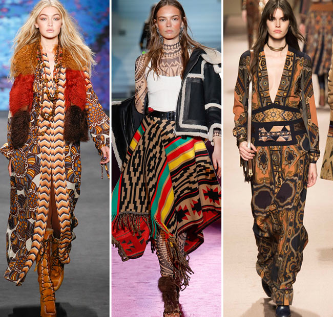 Fall/ Winter 2015-2016 Print Trends: Tribal Patterns