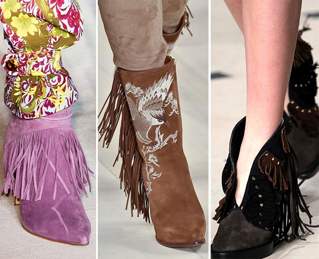 Fall/ Winter 2015-2016 Shoe Trends: Fringed Shoes