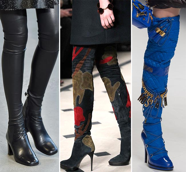 Fall/ Winter 2015-2016 Shoe Trends: Thigh-High Boots