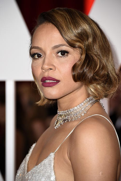 Short Hairstyle Ideas: Carmen Ejogo Finger Waves