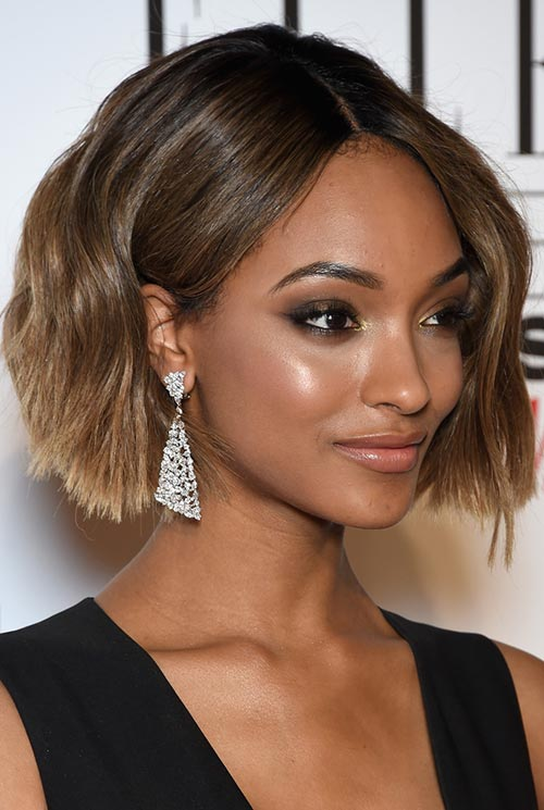 Short Hairstyle Ideas: Jourdan Dunn Wavy Bob