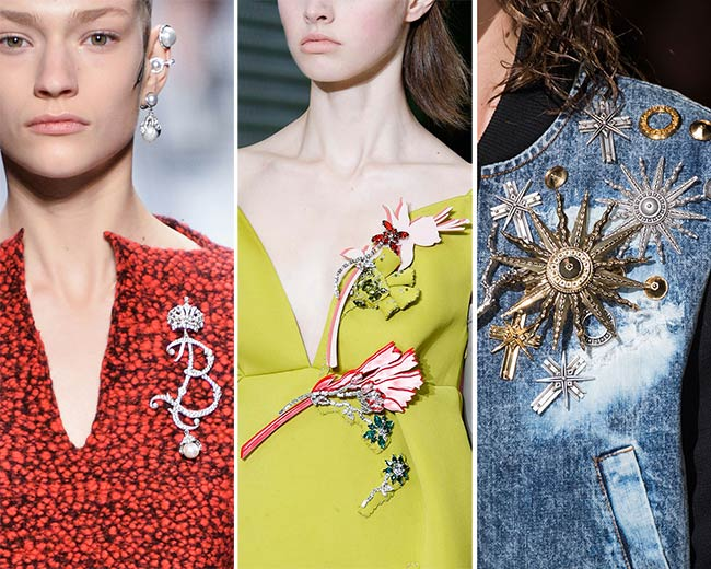 Fall/ Winter 2015-2016 Jewelry Trends: Brooches