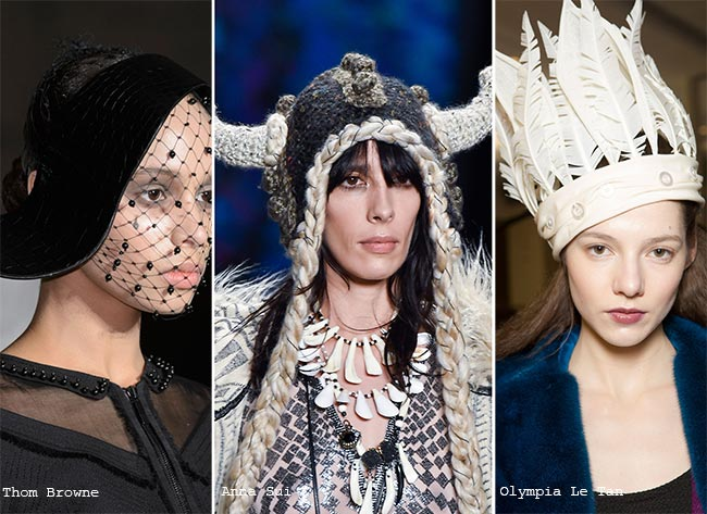 Fall/ Winter 2015-2016 Headwear Trends: Trendy and Unique Hats