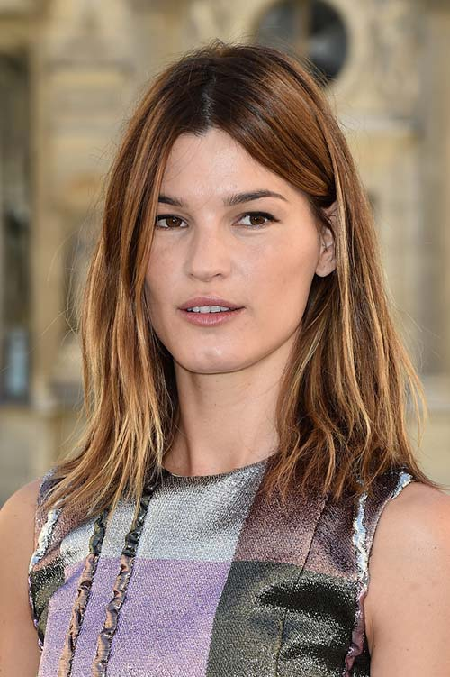 10 Shoulder-Length Layered Hairstyles: Hanneli Mustaparta