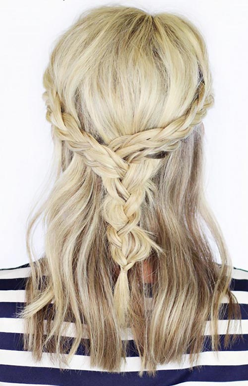 15 Killer Braided Hairstyles to Try for Coachella: Braided Braid