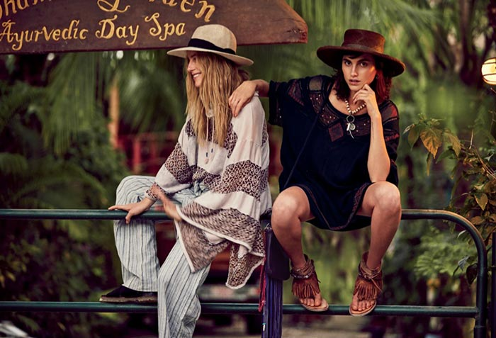 Hemingway Sisters for Free People May 2015 Catalogue