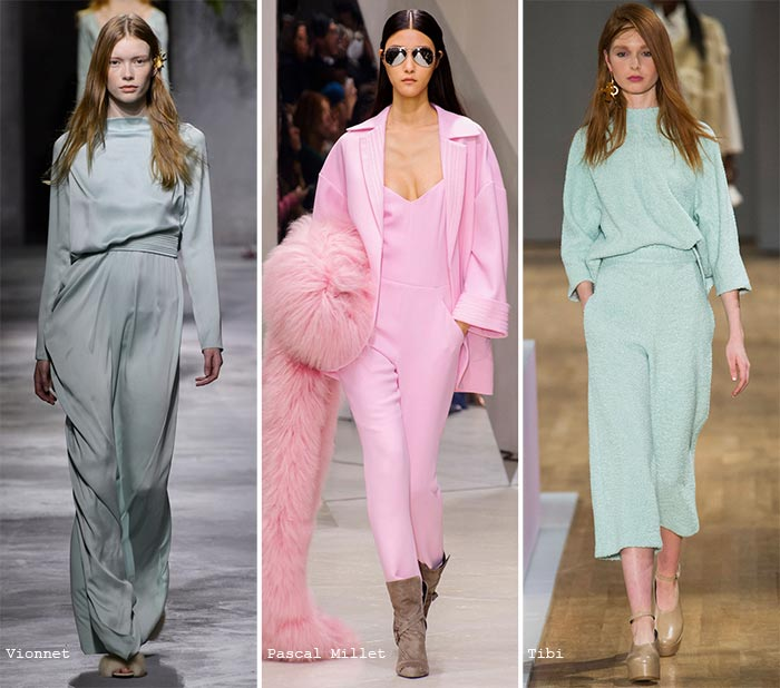 Fall 2015 Trend of Pastel Colors: Jumpsuits
