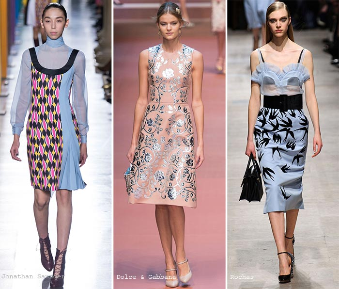 Fall 2015 Trend of Pastel Colors: Prints