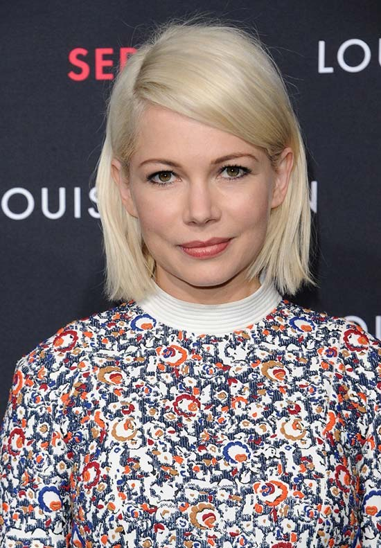 Summer 2015 Hairstyles: Michelle Williams