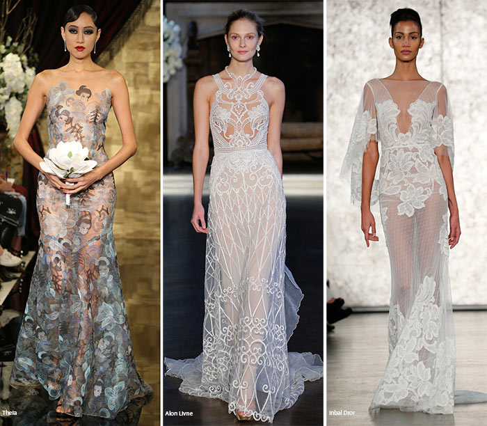 Fall 2016 Bridal Trends: Wedding Dresses With Sheer Inserts