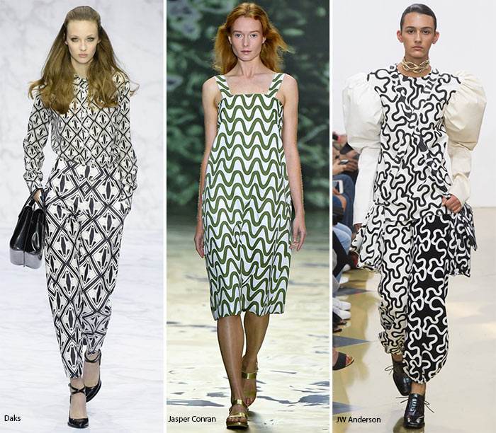 Spring/ Summer 2016 Print Trends: Op-Art Patterns
