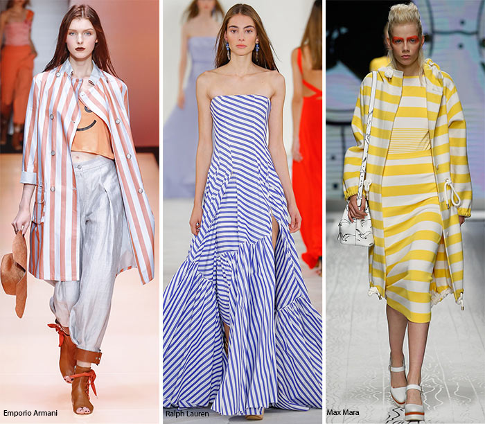 Spring/ Summer 2016 Print Trends: Stripes