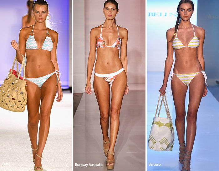 Spring/ Summer 2016 Swimwear Trends: Triangle Bikini Tops
